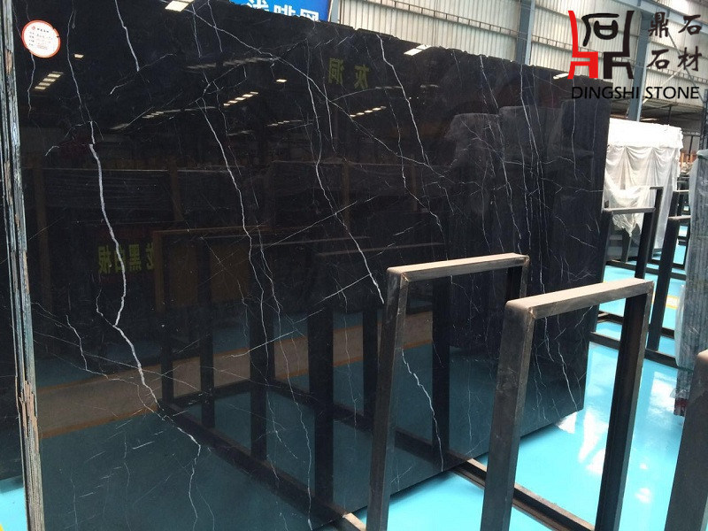 Nero Marquina Marble Bathroom Tile Black Natural Stone Marble