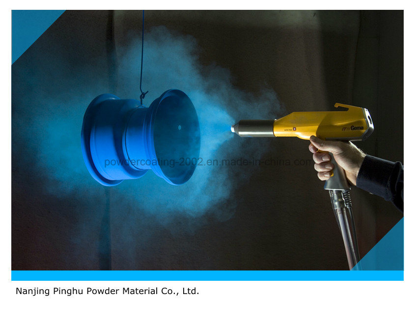 Blue Powder Coating for Outdoor Use