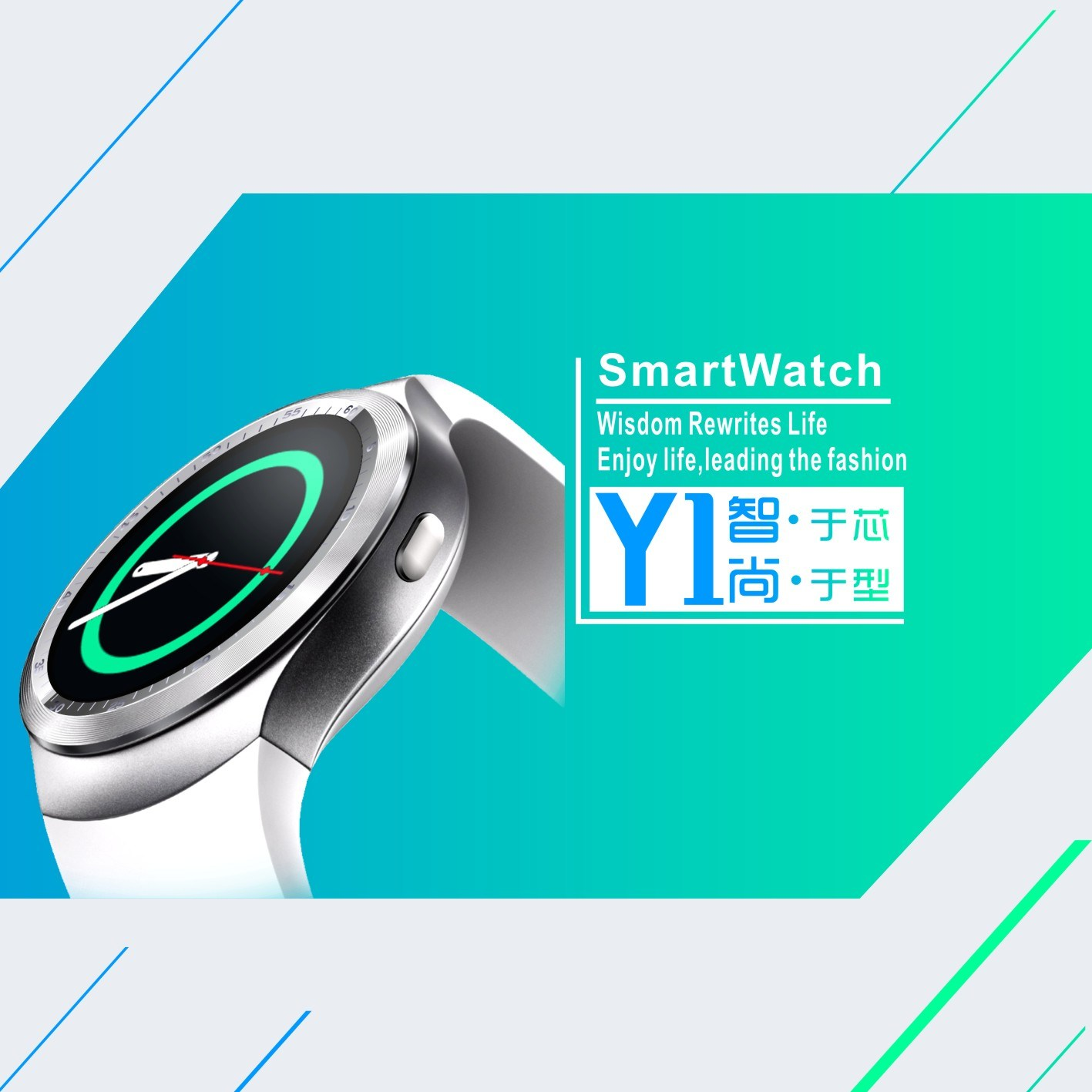 GSM Smart Watch Phone Bluetooth with Whatsapp Twitter Facebook