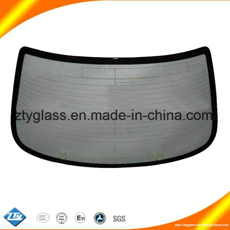 Tempered Rear Windshield Auto Glass From Zty Toughened Glass Factory