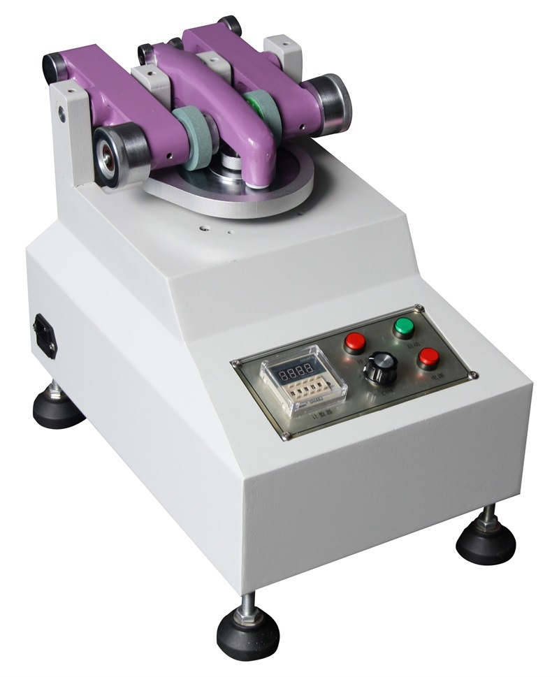 Electronic ASTM D1044 Abrasion Testing Machine of Leather / Fabric and Glass