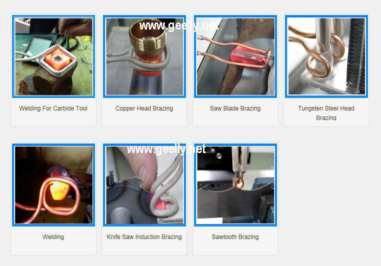 High Frequency Induction Heating Brazing Welding Melting Machine/Inducion Heater/Heat Treatment