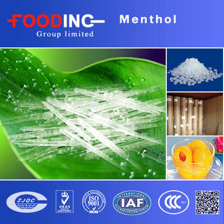 Bulk Halal Menthol Crystal Pharmaceutical Grade for Food Distributor