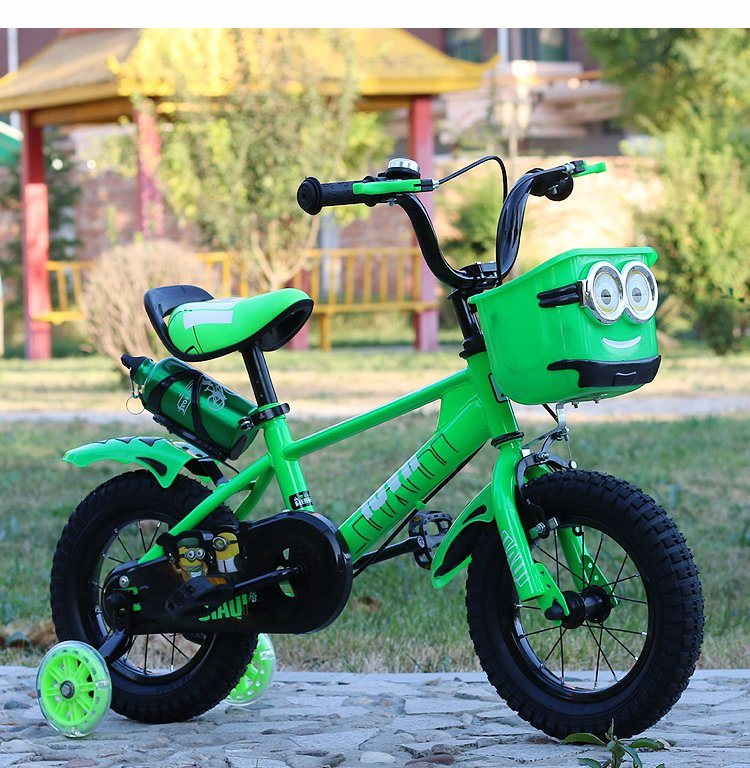 10 Inch New Stycle Children Bicycle, BMX Children Biycle with Rear Pedal Brake, White Tire Children Bicycle