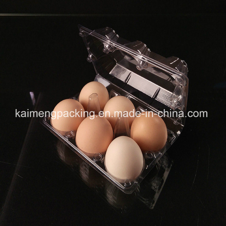 2017 Hot Selling Plastic Chicken&Hen Egg Trays for 4 Cells Package (plastic hen egg tray)