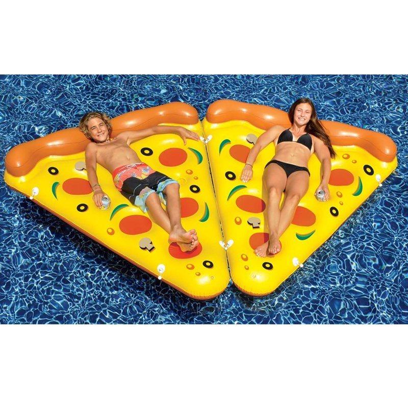 Hot Sale Summer Swim Item PVC Inflatable Pizza Pool Float