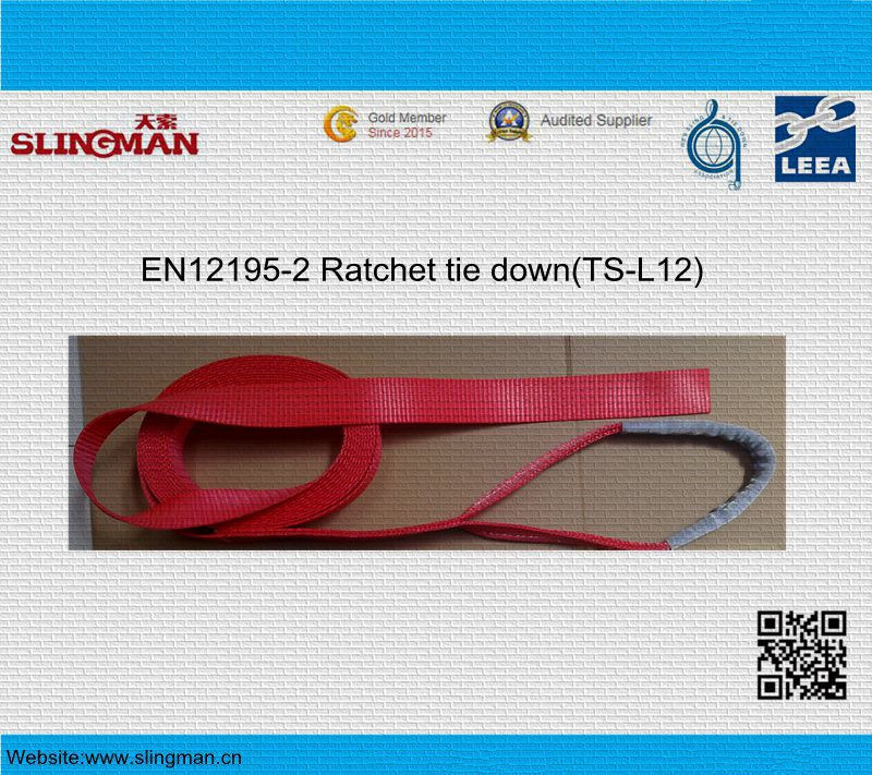 En12195-2 Ratchet Tie Down (TS-L12-02)