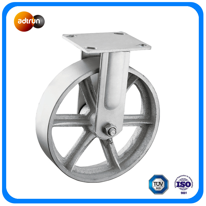 Heavy Duty Steel Rigid Casters