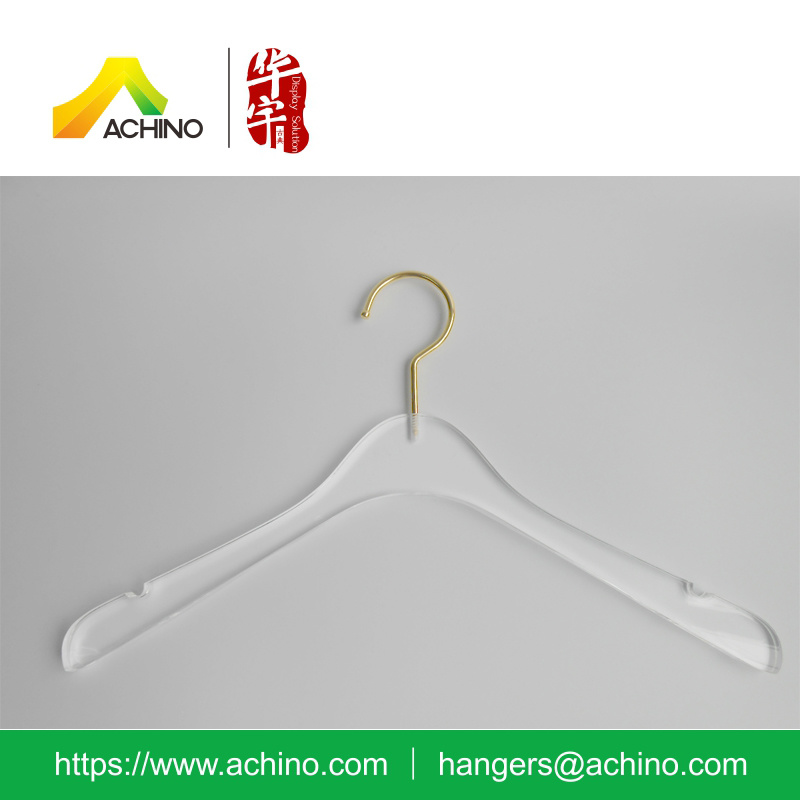 New Transparent Acrylic Hanger for Clothes (ACTH100)