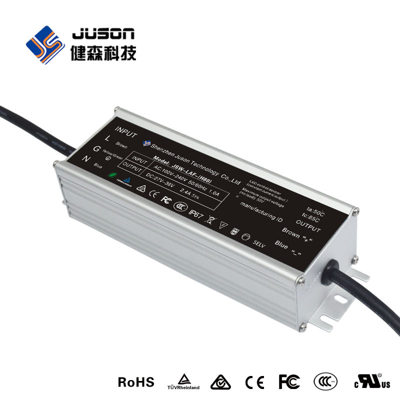 2017 30W Waterproof Power Supply 0.9A for LED Wall Washer