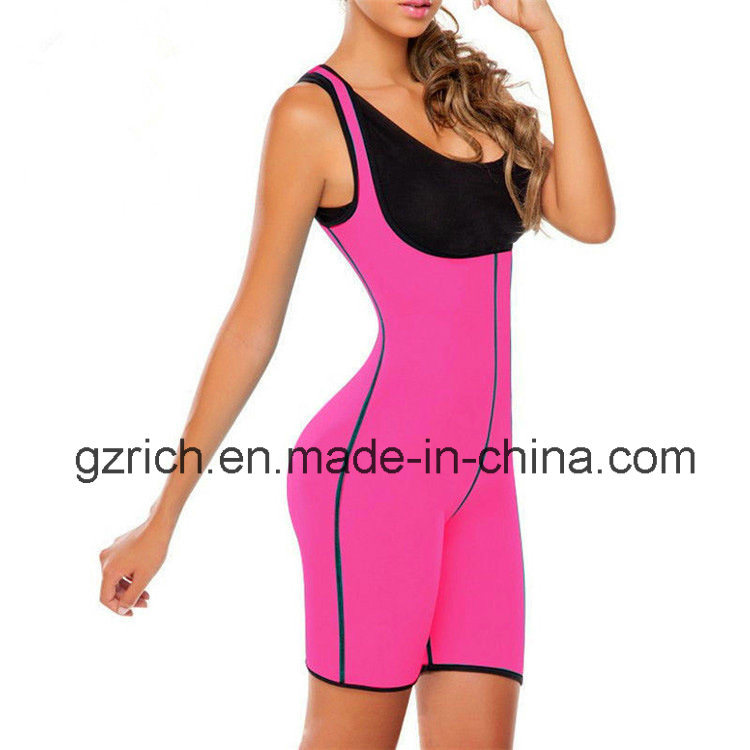 Neoprene Ultra Sweat Bodysuit Both Side Wear Shapewear