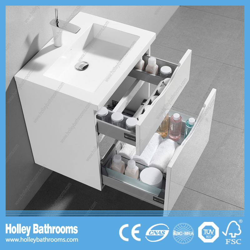 Popular Hotel Bathroom Accessory with Mirror Cabinet and 2 Drawers (BF359D)