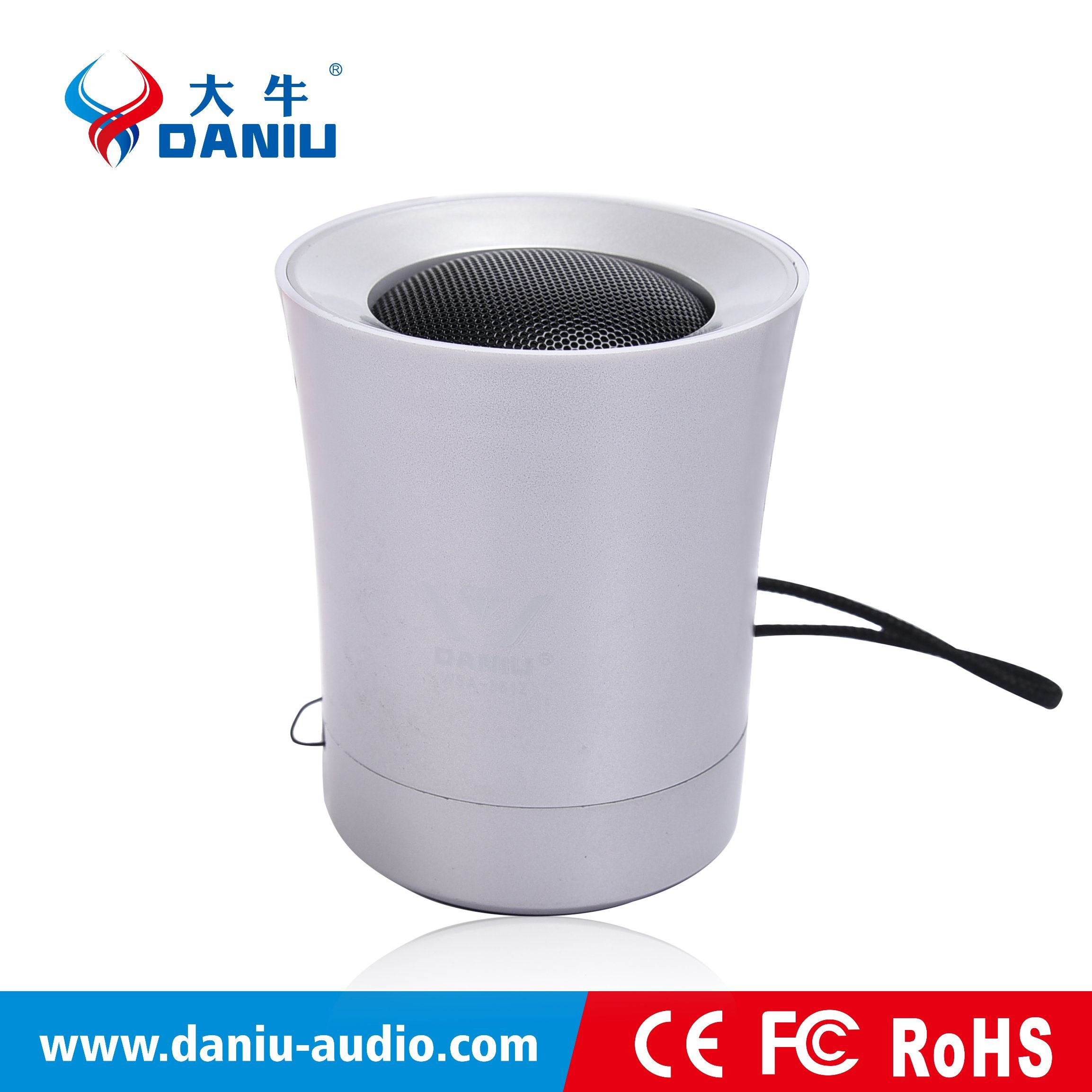 2016 New Bluetooth Speaker with 400mAh Chargeable Battery