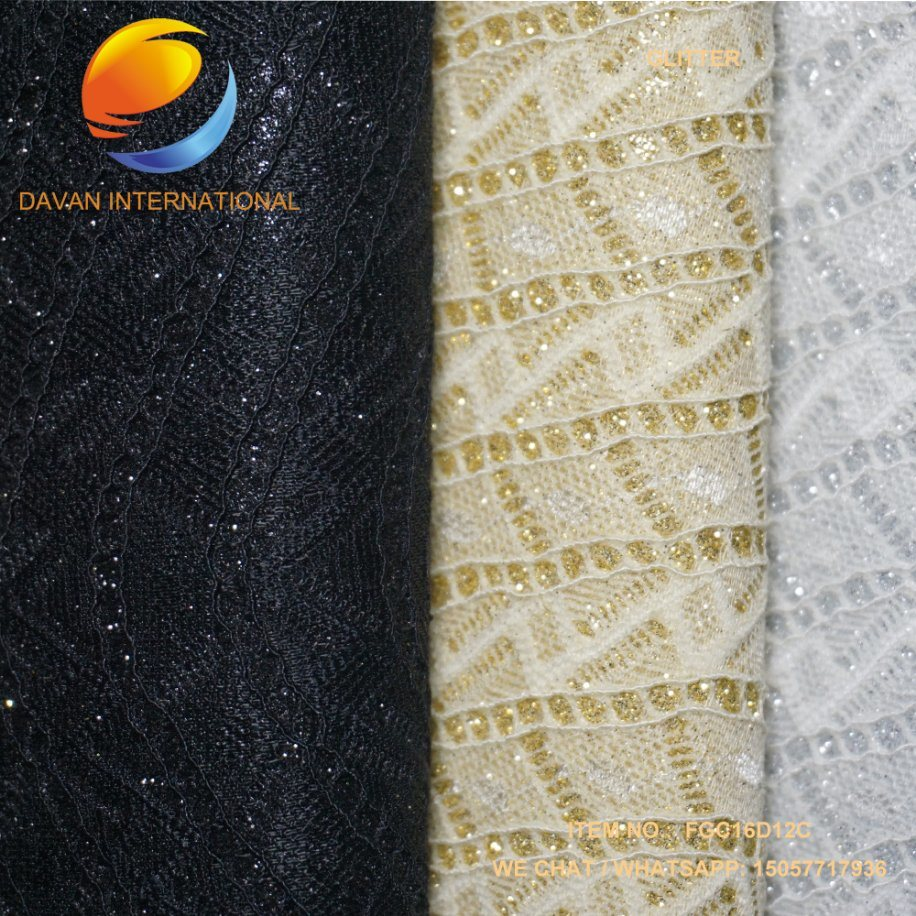 Imitation Leather Glitter Lady Fashion Shoe Material