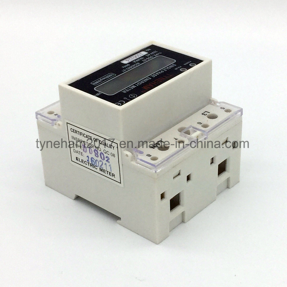 Dds-5L Single Phase DIN Rial Kwh Meter