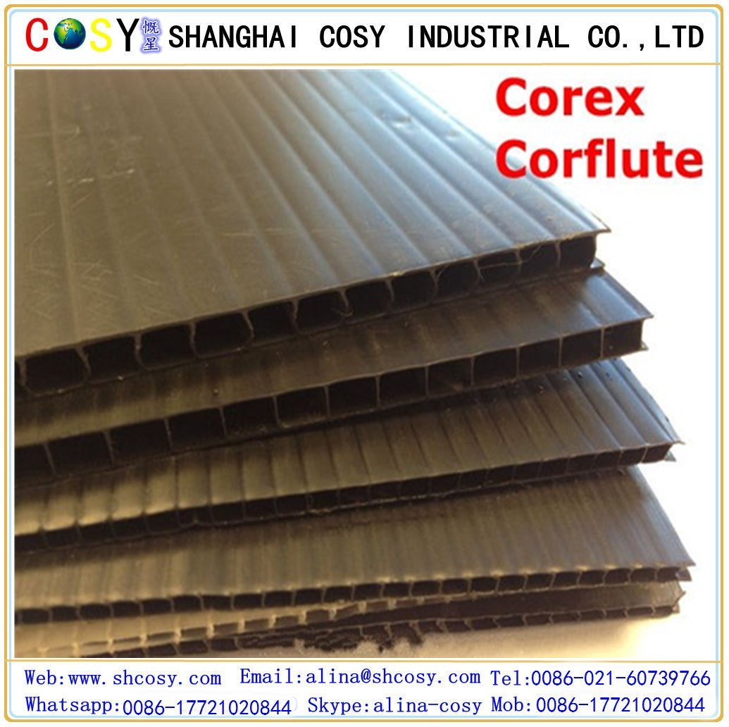 PP Hollow Sheet /PP Corrugated Sheet/Coroplast Sheet/Correx Sheet for Printing and Packing
