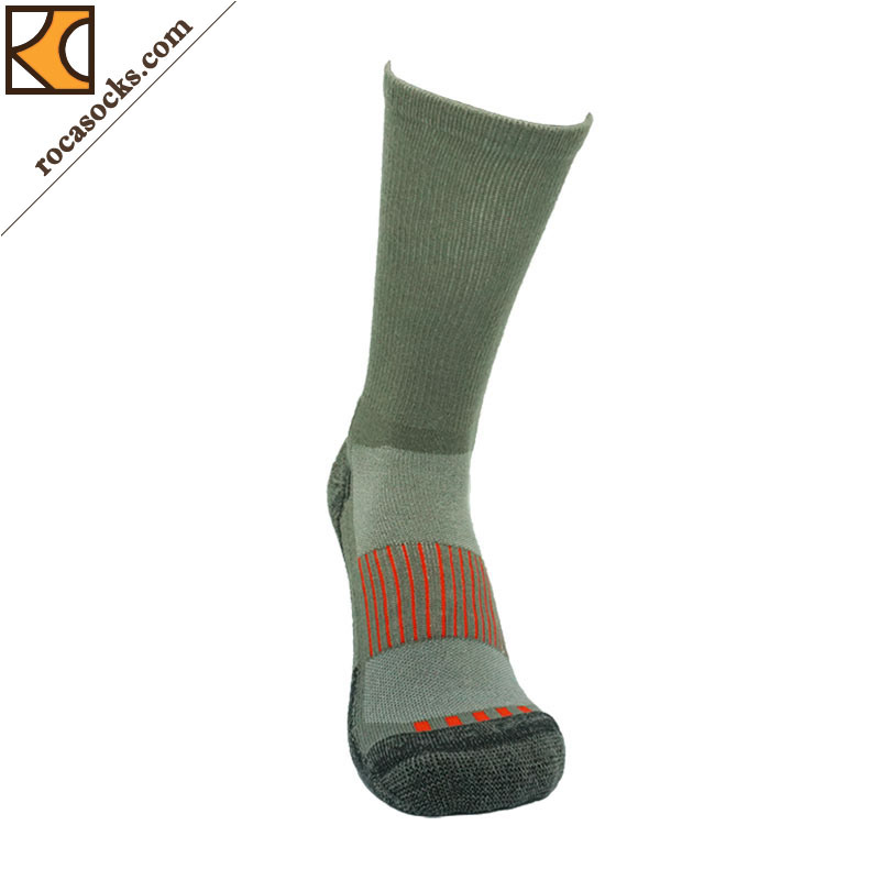 Outdoor Sport Coolmax Cotton Crew Socks (162007SK)