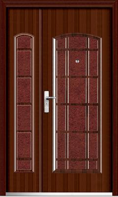 1/2-Leaf Steel Door (YF-SM02)