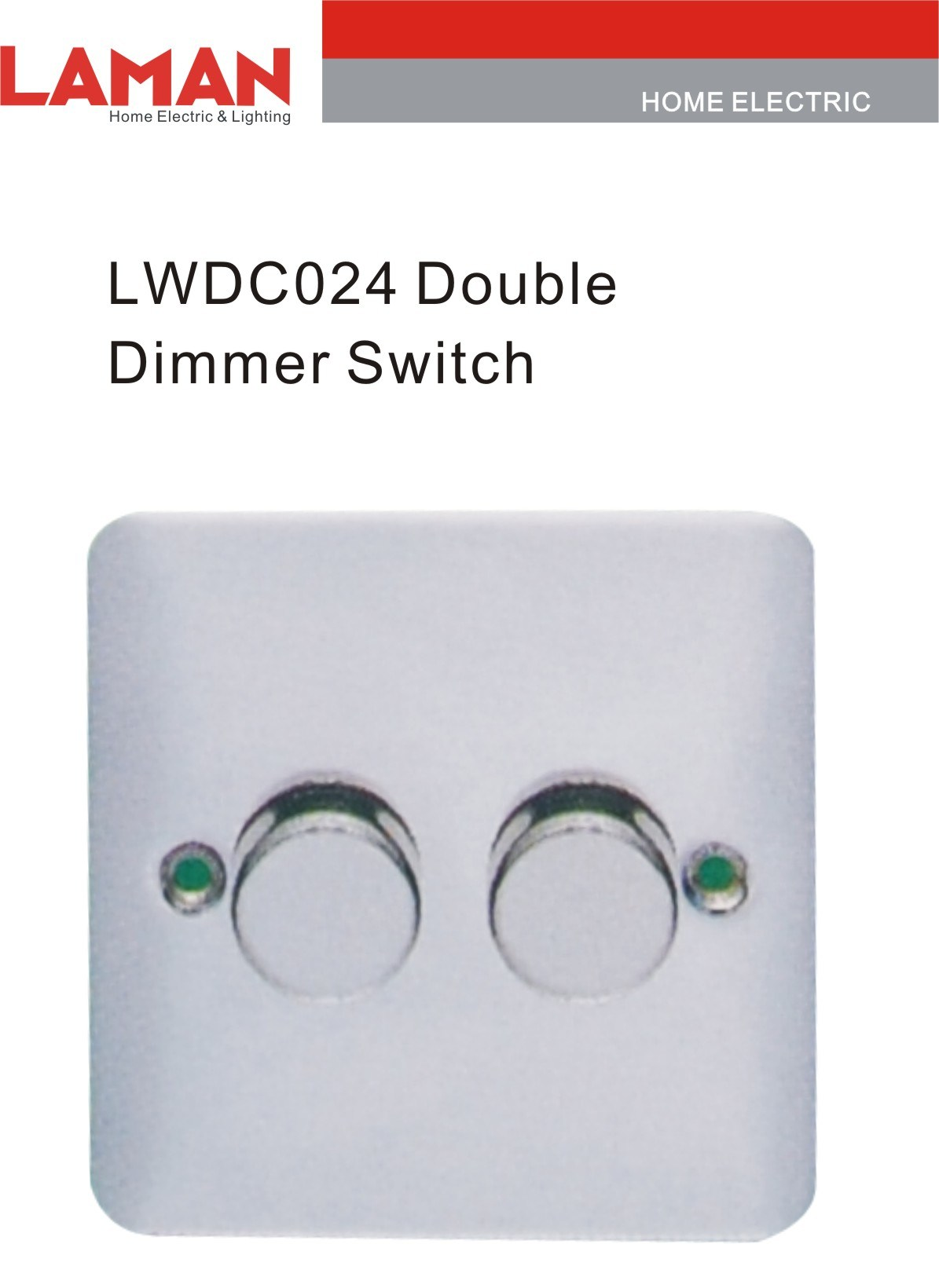 china double dimmer switch lwdc024 china wall switch switch. Black Bedroom Furniture Sets. Home Design Ideas