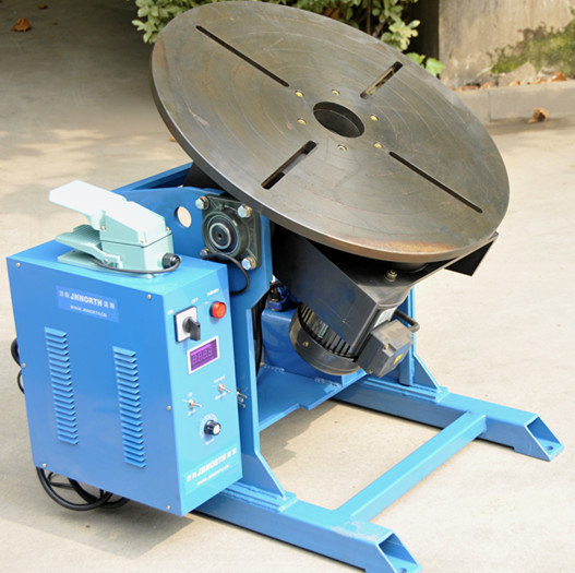 200kg Automatic Pipe Welding Positioner with Center Hole
