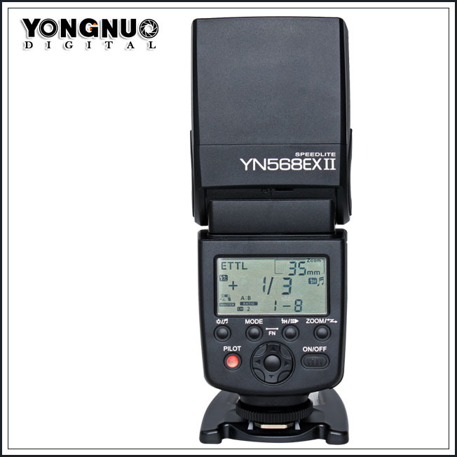 Speedlite for Canon/Nikon Camera (YN-568EX II)