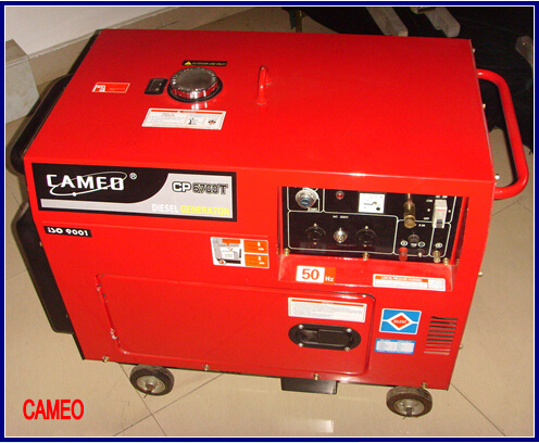 Cp6700t3-5kw Diesel Generator 3 Phase Generator Portable Generator Silent Generator Air Cooled Generator Small Generator