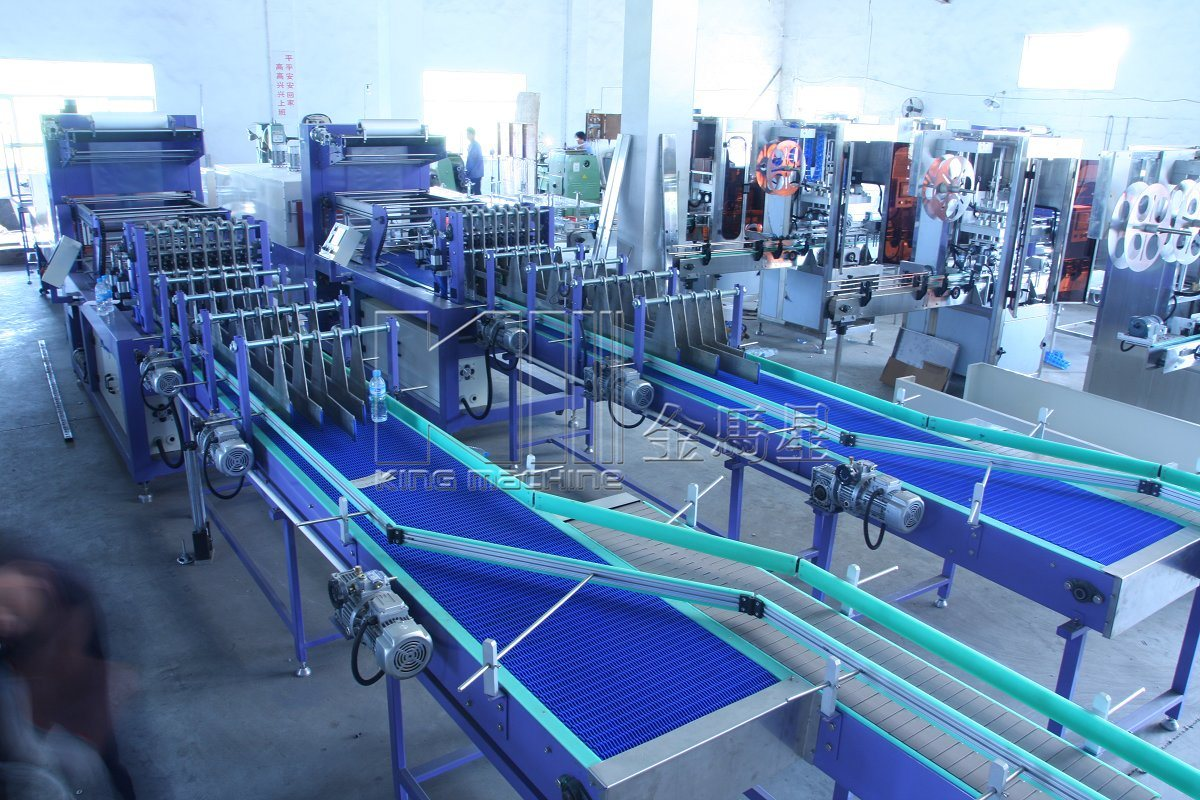Hot Shrink Film Packing Machine