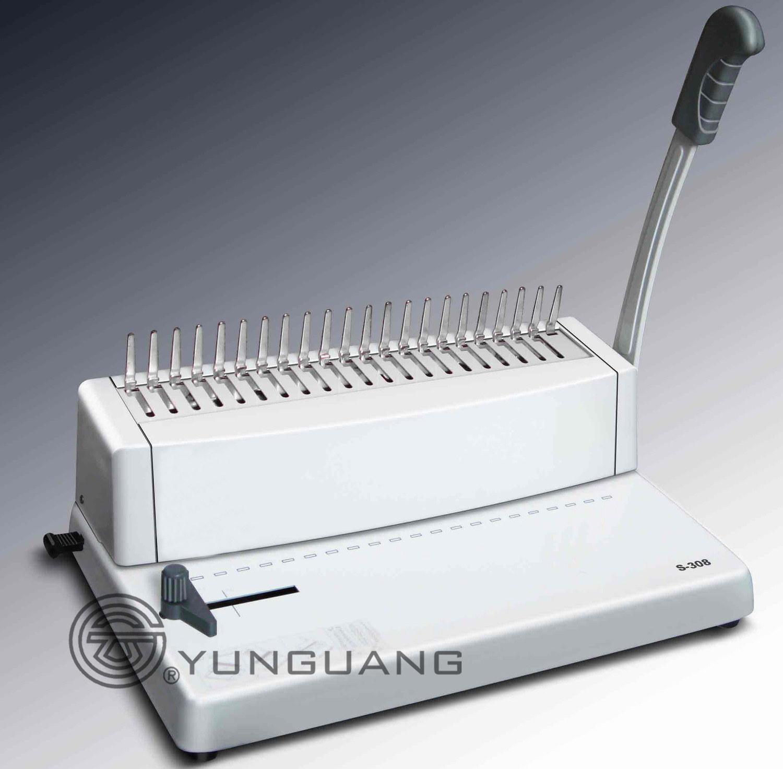 Comb Binding Machine (YG-S308)