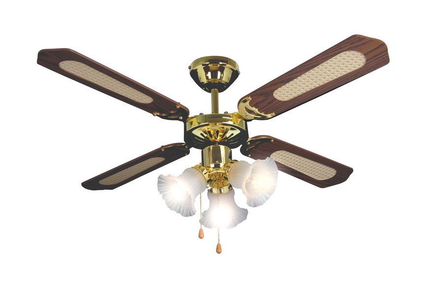 China 42 Ceiling Fan With 3 Light SH0005