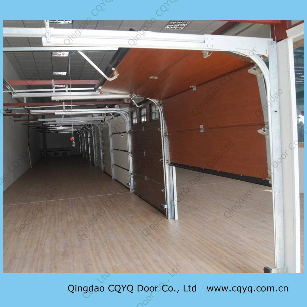Wood Sectional Garage Doors : China wood color sectional garage door