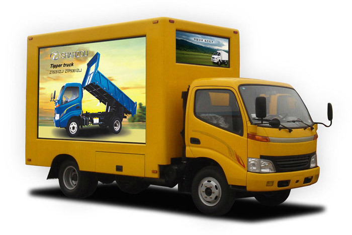 Advertising Truck