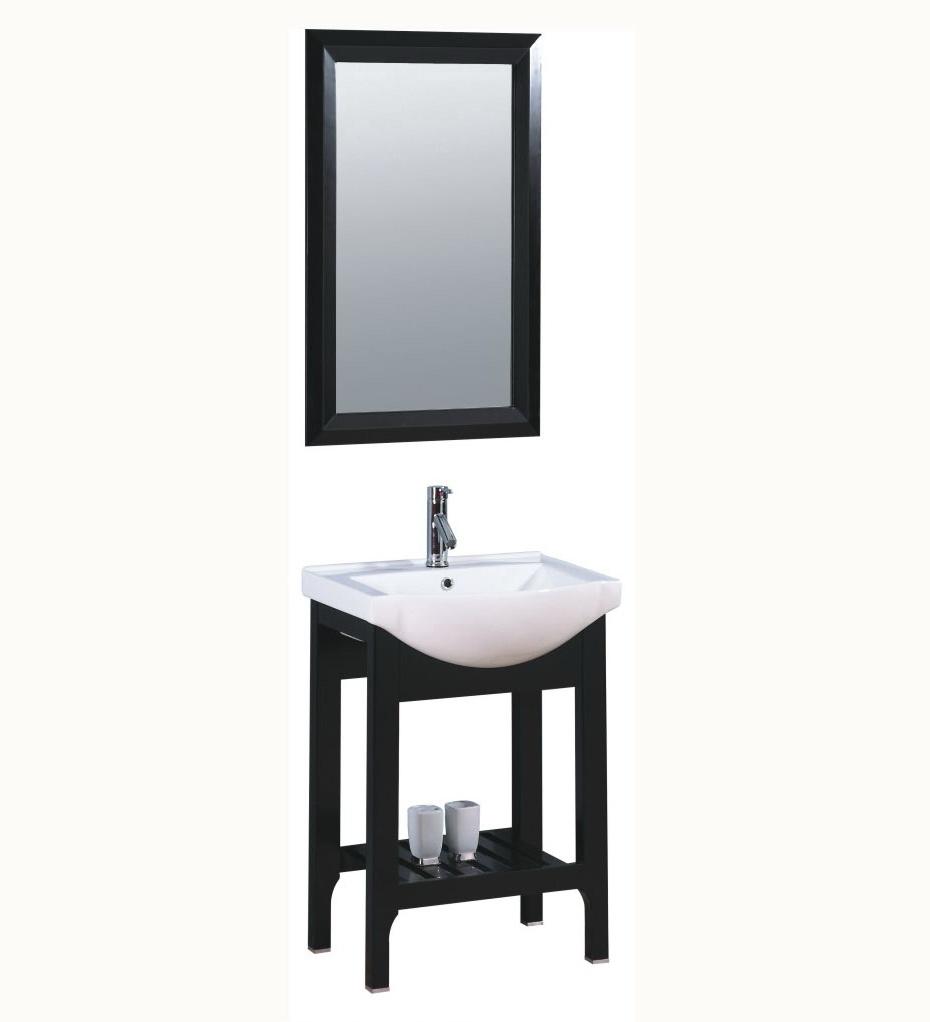China bathroom vanity cabinet wood wash basin stand wood for Vanity stand