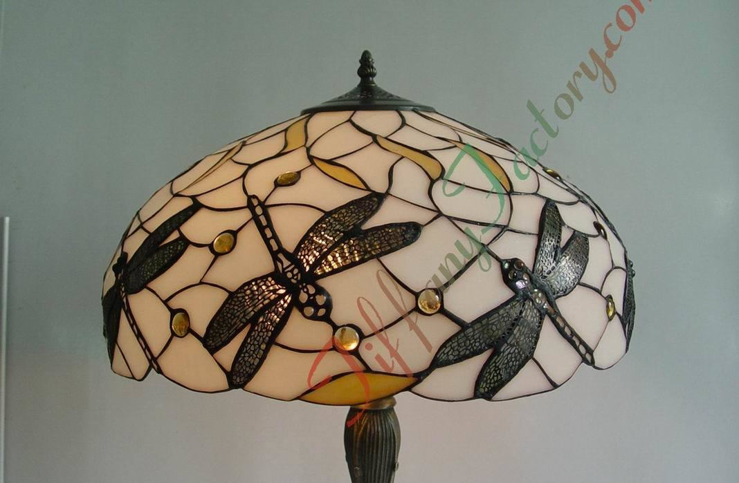 lamp shade dragonfly china tiffany lamp shade stained glass lamp. Black Bedroom Furniture Sets. Home Design Ideas