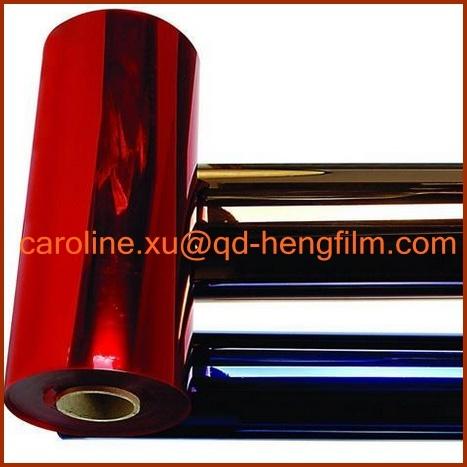 Colorful Rigid Transparent Thermoforming Packing PVC Plastic Film