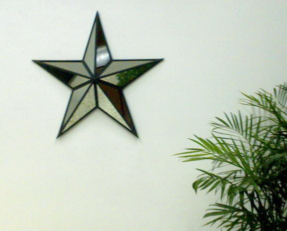China wall mirror star b6875l china wall decor candle holder - Stars for walls decorating ...