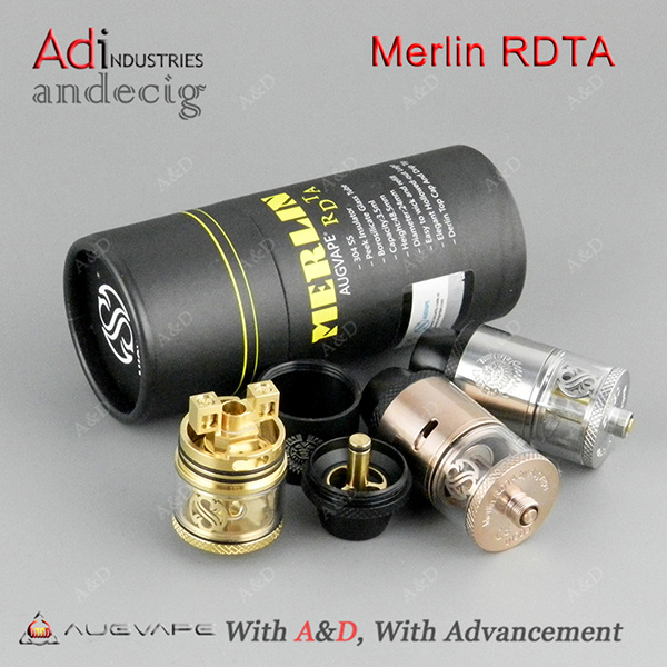 2017 New Arrival Original Augvape Merlin Rdta 3.5ml