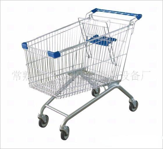 Supermarket Metal Shopping Carts & Trolley