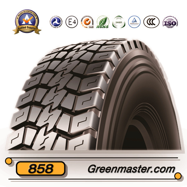 India Bis Certified All Steel Radial Truck Tyre 10.00r20
