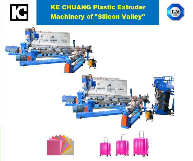 Professional PP/PS Plastic Sheet Extruder Machine