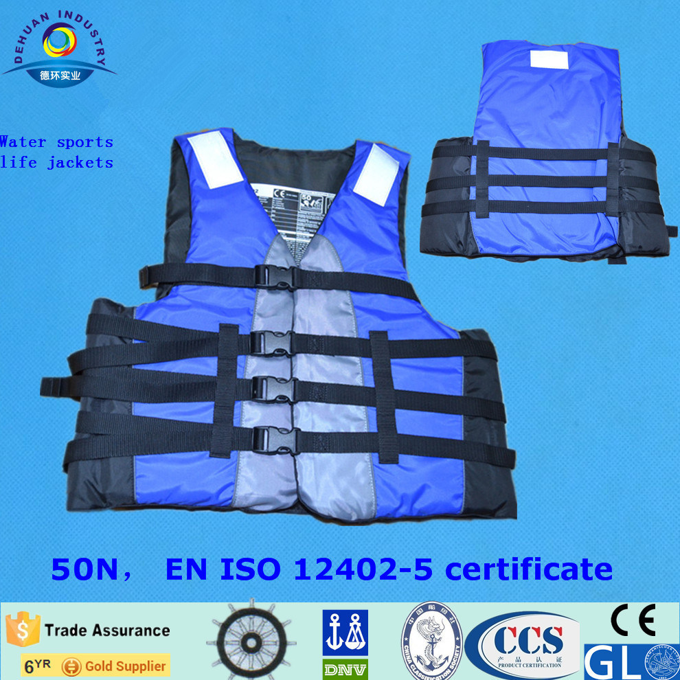 Leisure Life Jacket with ISO12402-3 Certificate