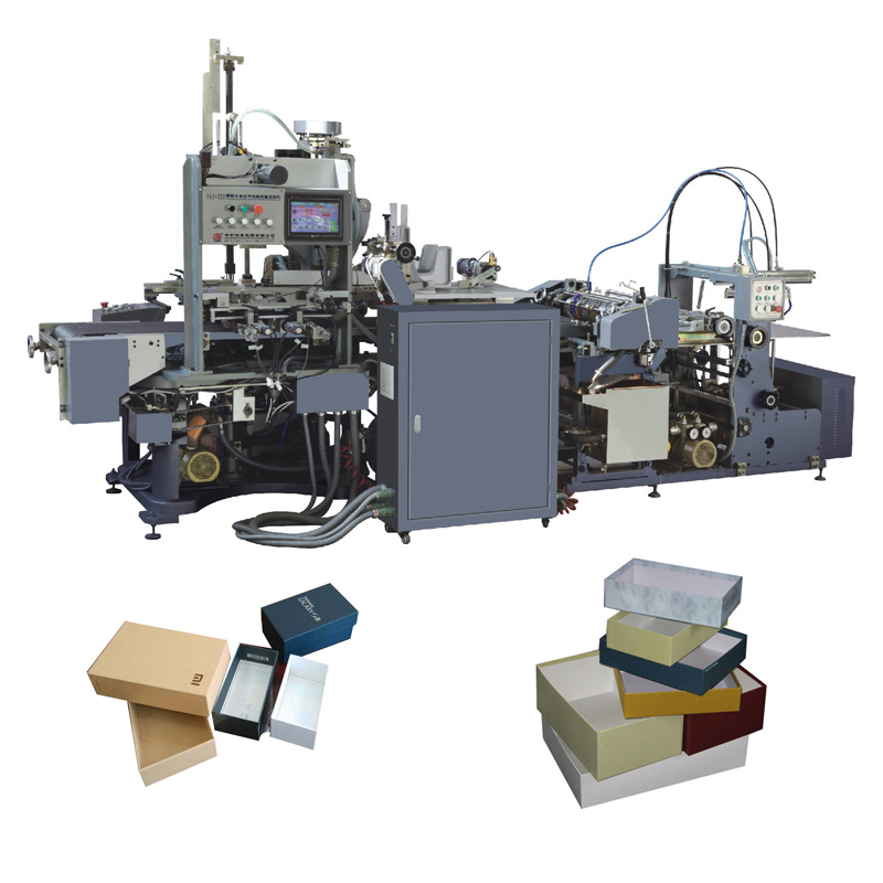 Rigid Set-Up Box Machines(Machinery) Passed CE