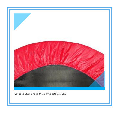 """38"""" Round Mini Trampoline with Handrail for Gym"""