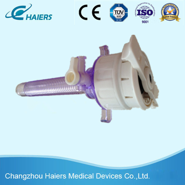 Disposable Straight Trocar for Laparoscopic Surgery