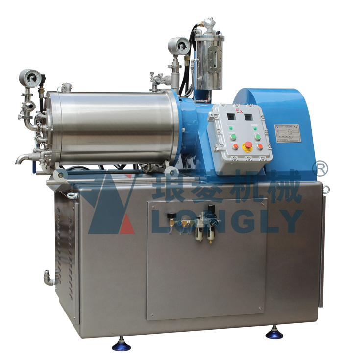 NT-V10 Pin Type Horizontal Nano Bead Mill
