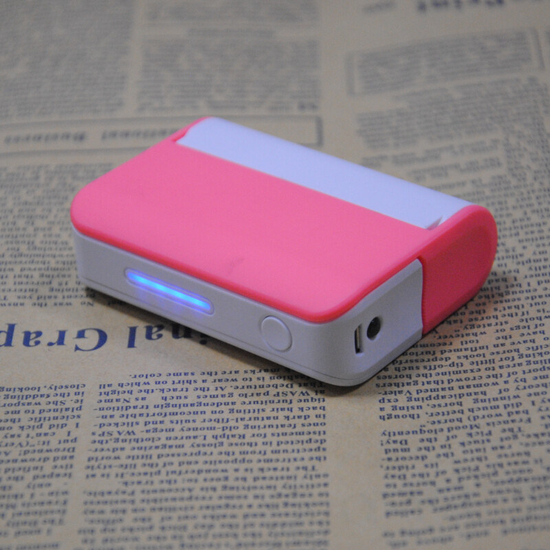 3000mAh Portable Mobile Power with Mirror and Holder for Sale