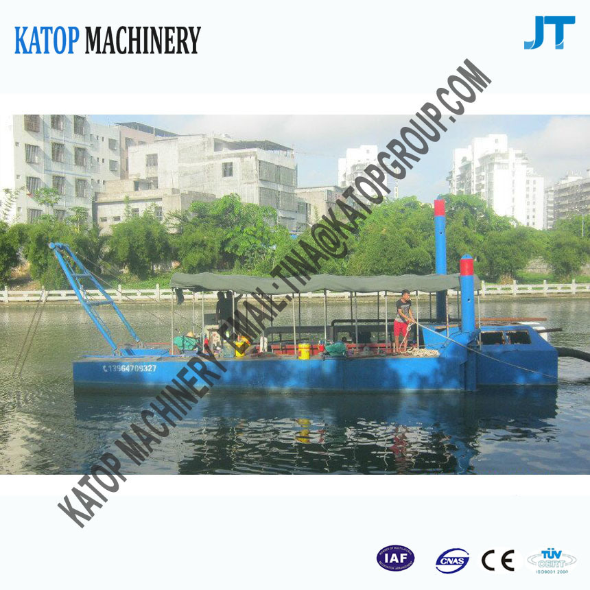 80cbm Mini River Sand Suction Dredger Mini Cutter Suction Dredger