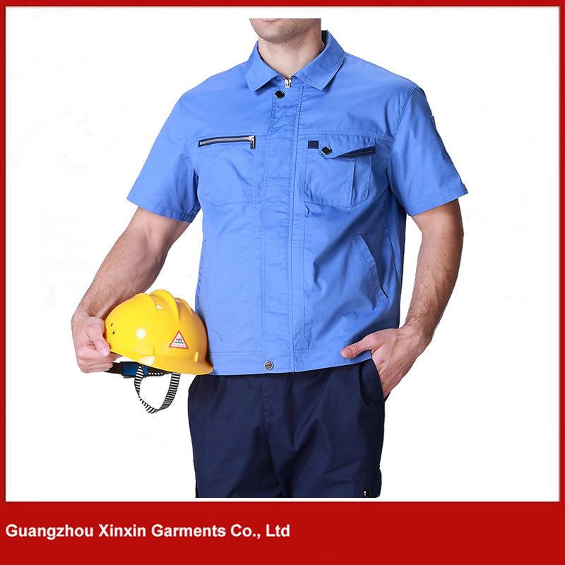 Factory Men Workwear Uniform Cheap Work Jackets Uniform Clothes (W103)