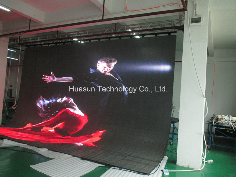 Indoor Flexible LED Display for Stage and Rental