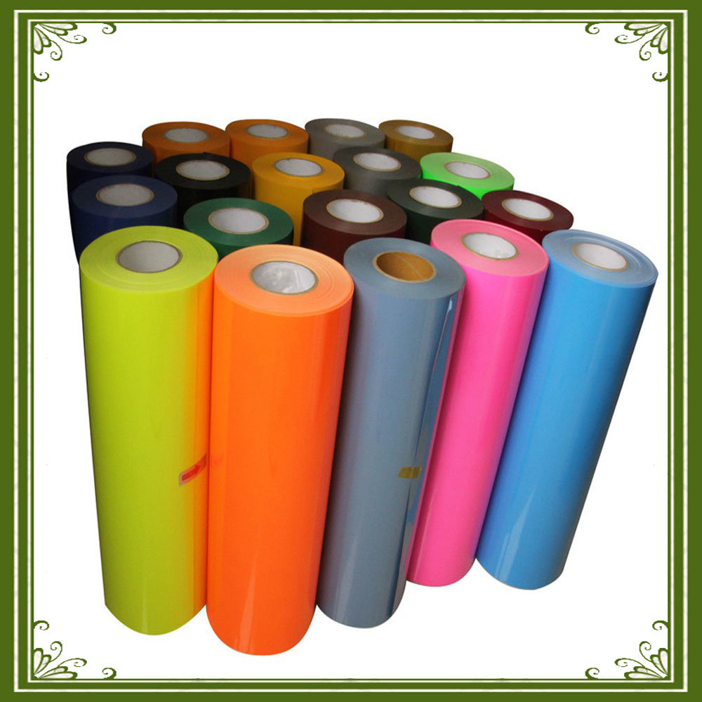 Colorful Low Cost PU Heat Transfer Vinyl/PU Heat Transfer Vinyl Sheets