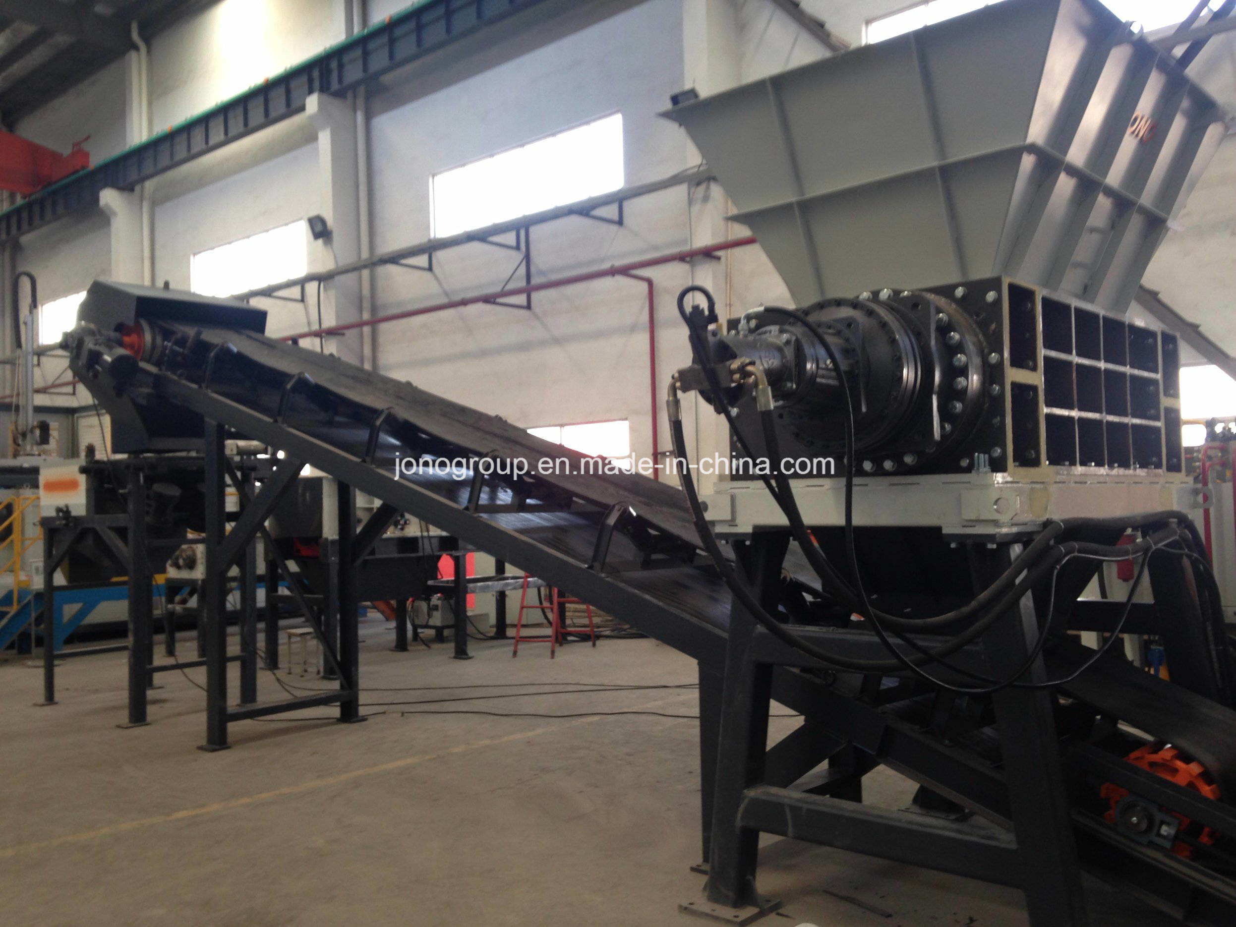 1PSL4613A Dual-Shaft (Shear) Shredder for Metal Recycling Industry